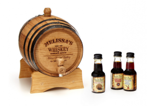 A personalized Whiskey Barrel to age your spirit to perfection via Uncommon Goods (buy)